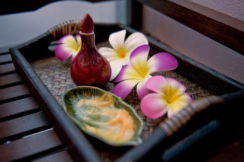 Интерьер спа салона тайского массажа Вай Тай Тульская