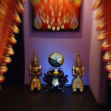 Интерьер спа салона тайского массажа Вай Тай Красногорск