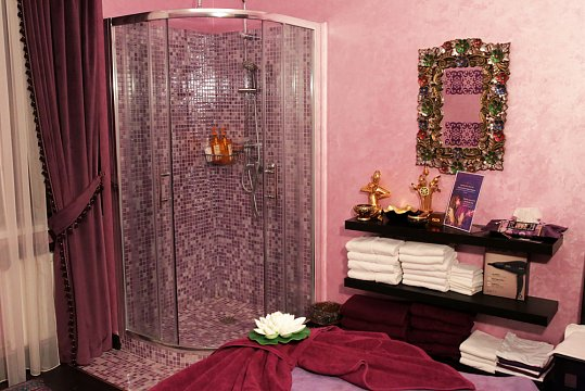 Интерьер спа салона тайского массажа Вай Тай Красная Пресня