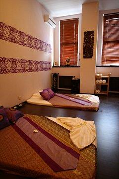 Интерьер спа салона тайского массажа Вай Тай Новая Рига