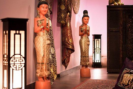 Интерьер спа салона тайского массажа Вай Тай Батайск