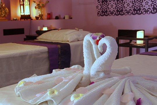 Интерьер спа салона тайского массажа Вай Тай Жукова