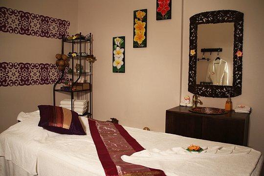 Интерьер спа салона тайского массажа Вай Тай Строгино