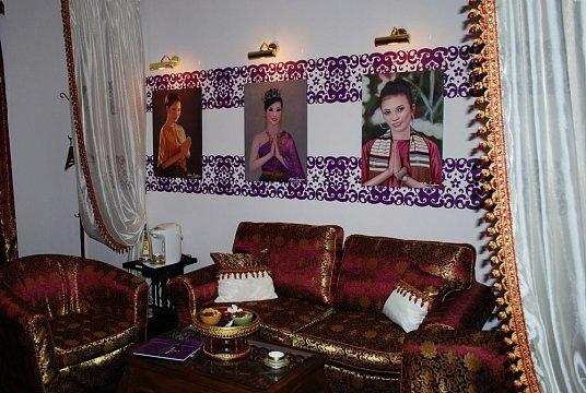 Интерьер спа салона тайского массажа Вай Тай Коньково
