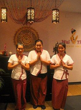 Интерьер спа салона тайского массажа Вай Тай Маяковская