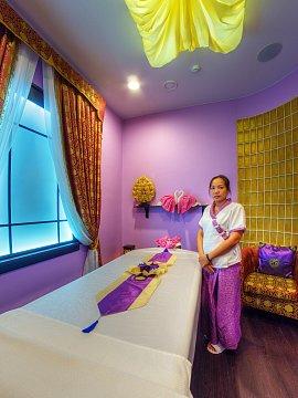 Интерьер спа салона тайского массажа Вай Тай Щелково