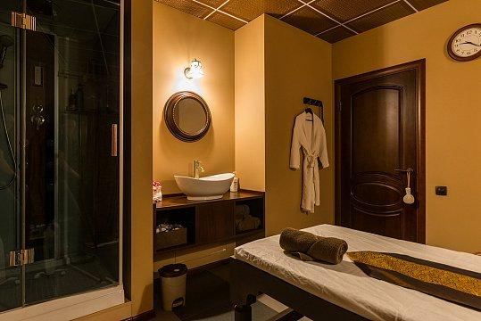 Интерьер спа салона тайского массажа Вай Тай Аэропорт