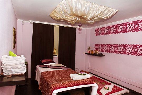 Интерьер спа салона тайского массажа Вай Тай Кузьминки