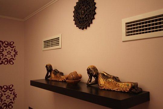 Интерьер спа салона тайского массажа Вай Тай Красносельская