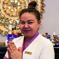 Тайский мастер спа салона Вай Тай Белорусская - Пой