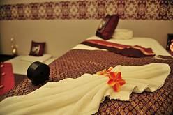 Интерьер спа салона тайского массажа Вай Тай Перово