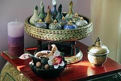 Интерьер спа салона тайского массажа Вай Тай Сочи