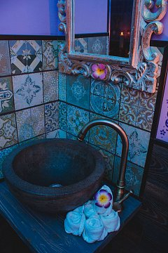 Интерьер спа салона тайского массажа Вай Тай Санкт-Петербург, Звездная