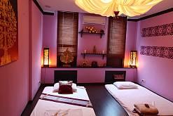 Интерьер спа салона тайского массажа Вай Тай Крылатское