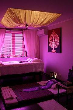 Интерьер спа салона тайского массажа Вай Тай Некрасовка