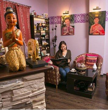 Интерьер спа салона тайского массажа Вай Тай Улан-Удэ
