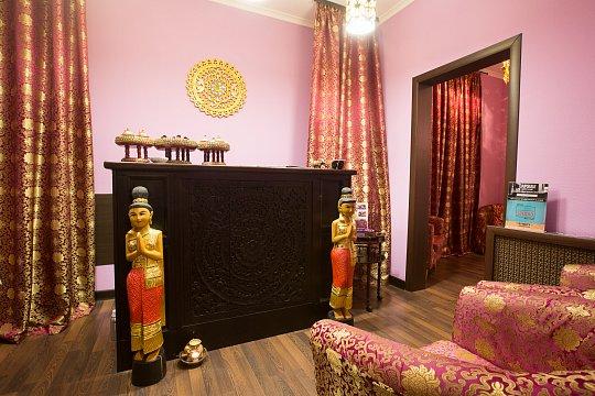 Интерьер спа салона тайского массажа Вай Тай Митино
