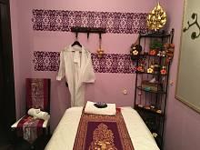Интерьер спа салона тайского массажа Вай Тай Строгинский б-р