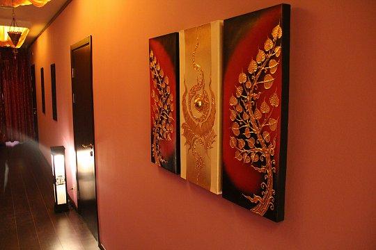 Интерьер спа салона тайского массажа Вай Тай Раменское