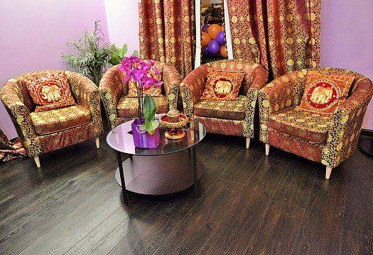 Интерьер спа салона тайского массажа Вай Тай Таганская