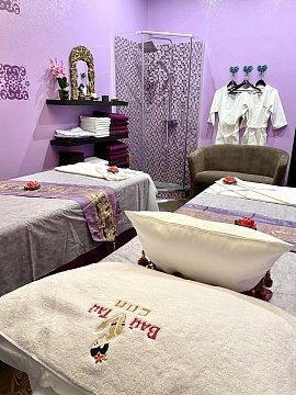 Интерьер спа салона тайского массажа Вай Тай Домодедовская