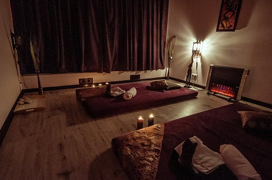 Интерьер спа салона тайского массажа Вай Тай Реутов, Новогиреево