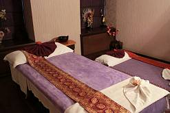 Интерьер спа салона тайского массажа Вай Тай Арбат