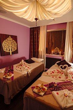 Интерьер спа салона тайского массажа Вай Тай Филевский Парк