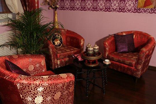 Интерьер спа салона тайского массажа Вай Тай Ходынка