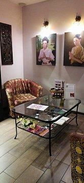 Интерьер спа салона тайского массажа Вай Тай Пушкино