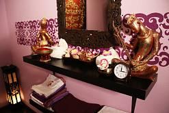 Интерьер спа салона тайского массажа Вай Тай Рублевка