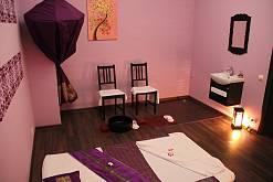 Интерьер спа салона тайского массажа Вай Тай Рокоссовского